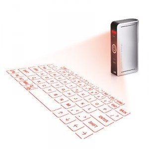 Laser projector keyboard (c) Uncommon Goods