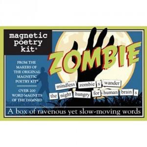 Magnetic Poetry Kit Zombie @ Amazon