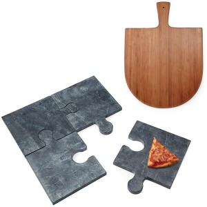 Puzzle Pizza Stone (c) Uncommon Goods
