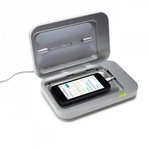 Carregador e desinfectante smartphone (c) Uncommon Goods